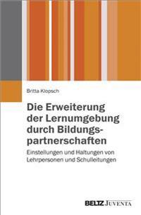 Die Erweiterung der Lernumgebung durch Bildungspartnerschaften