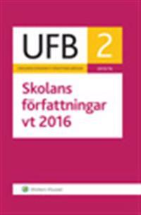 UFB 2 vt Skolans författningar 2016