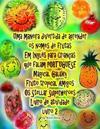 Uma maneira divertida de aprender os nomes de frutas Em Inglês para Crianças que falam PORTUGUÊS Galaxy mágico Fruto tropical Amigos Os Stellar Superh