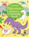 Dinosaurs StickerColouring Book