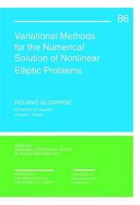 Variational Methods for Numerical Solution of Nonlinear Elliptic Problems