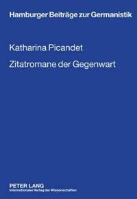 """Zitatromane Der Gegenwart: Georg Schmid """"roman Trouvé"""" - Marcel Beyer """"das Menschenfleisch"""" - Thomas Meinecke """"hellblau"""""""