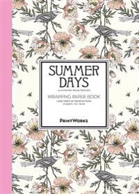 Summer Days. Wrapping paper book