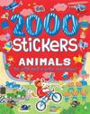 2000 Stickers Animals: 36 Wild and Wacky Activities!