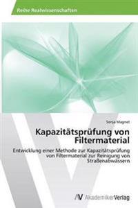 Kapazitatsprufung Von Filtermaterial