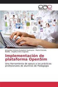 Implementacion de Plataforma Opensim