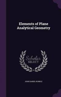 Elements of Plane Analytical Geometry