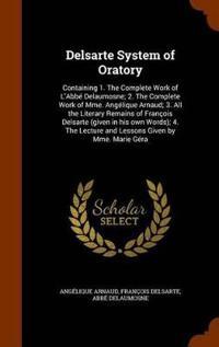 Delsarte System of Oratory