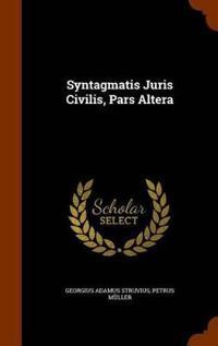 Syntagmatis Juris Civilis, Pars Altera