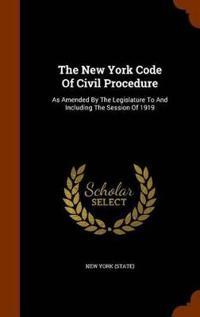 The New York Code of Civil Procedure