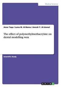 The effect of polymethylmethacrylate on dental modelling wax