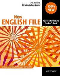 New english file: upper-intermediate: students book - six-level general eng