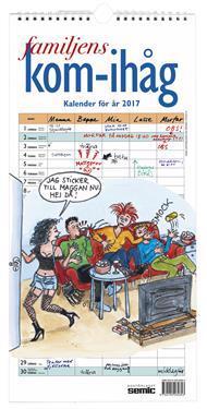 Familjens kom-ihåg-kalender 2017