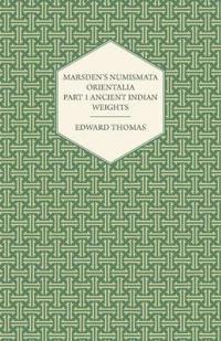 Marsden's Numismata Orientalia