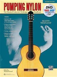 Pumping Nylon: The Classical Guitarist's Technique Handbook, Book, DVD & Online Audio & Video