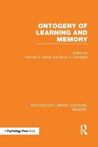 Ontogeny of Learning and Memory