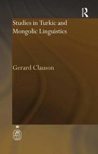 Studies in Turkic and Mongolic Linguistics