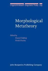 Morphological Metatheory