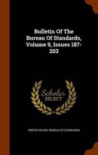 Bulletin of the Bureau of Standards, Volume 9, Issues 187-203