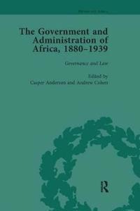 The Government and Administration of Africa 1880-1939