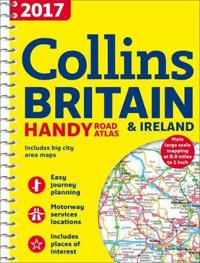 2017 Collins Handy Road Atlas Britain and Ireland
