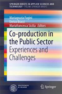 Co-production in the Public Sector
