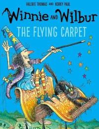 Winnie and wilbur: the flying carpet with audio cd