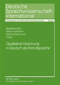 Qualitative Forschung in Deutsch ALS Fremdsprache