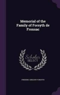 Memorial of the Family of Forsyth de Fronsac