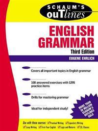 Schaum's Outline of Theory and Problems of English Grammar