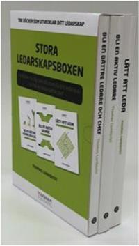 Stora Ledarskapsboxen - Tre böcker som utvecklar ditt ledarskap