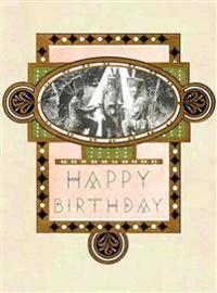 Birthday - Greeting Cards, Pkg of 6: Greeting: Happy Birthday (Blank Inside)