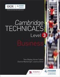 Cambridge Technicalsbusiness Level 3