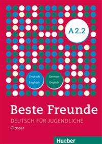 Beste Freunde A2/2. Glossar Deutsch-Englisch  -  German-English
