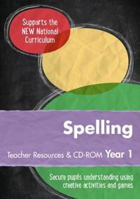 Year 1 Spelling Teacher Resources: English Ks1 [With CDROM]