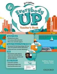Everybody Up: Level 6: Teacher's Book Pack with DVD, Online Practice and Teacher's Resource Center CD-ROM