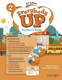 Everybody Up : Level 2: Teacher's Book Pack with DVD, Online Practice and Teacher's Resource Center CD-ROM