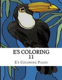 E's Coloring 11