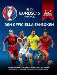 UEFA Euro 2016 - den officiella em-boke:
