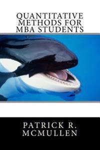 Quantitative Methods for MBA Students