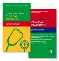 Oxford Handbook of Clinical Medicine + Oxford Handbook of Clinical Diagnosis