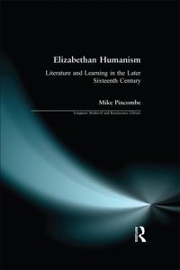 Elizabethan Humanism