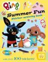 Bing's Summer Fun Sticker Activity Book