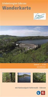 Rad- und Wanderkarte Erlebnisregion Edersee 1 : 25 000