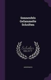 Sonnenfels Gefammelte Schriften