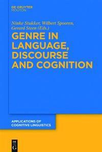 Genre in Language, Discourse and Cognition