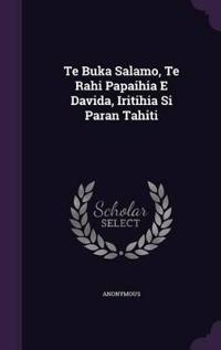 Te Buka Salamo, Te Rahi Papaihia E Davida, Iritihia Si Paran Tahiti
