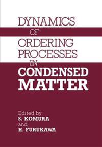 Dynamics of Ordering Processes in Condensed Matter