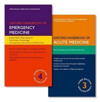Oxford Handbook of Emergency Medicine + Oxford Handbook of Acute Medicine