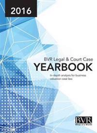 BVR Legal & Court Case Yearbook 2016